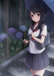 Rating: Safe Score: 54 Tags: nicoby seifuku thighhighs User: donicila