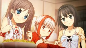Rating: Safe Score: 28 Tags: arishima_alice cura game_cg lose monobeno sawai_natsuha sumi_(monobeno) User: Radioactive