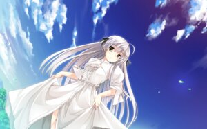 Rating: Safe Score: 90 Tags: dress kasugano_sora mutou_kurihito wallpaper yosuga_no_sora User: fireattack