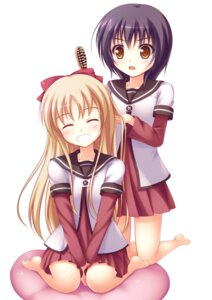 Rating: Safe Score: 20 Tags: funami_yui psyche3313 seifuku toshinou_kyouko yuru_yuri User: ddns001