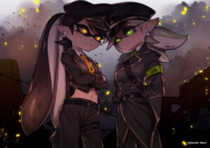 Rating: Safe Score: 19 Tags: aori_(splatoon) hotaru_(splatoon) pointy_ears puchiman splatoon uniform User: Mr_GT