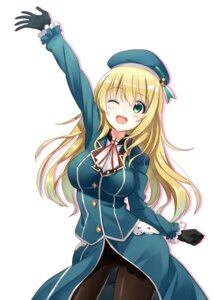 Rating: Questionable Score: 65 Tags: atago_(kancolle) hyuuga_azuri kantai_collection pantsu pantyhose User: blooregardo
