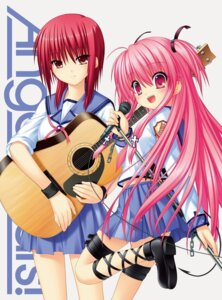 Rating: Safe Score: 24 Tags: angel_beats! guitar iwasawa jpeg_artifacts na-ga seifuku tail yui_(angel_beats!) User: fairyren