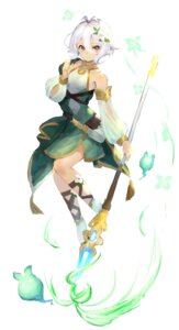 Rating: Safe Score: 17 Tags: dress kokkoro pointy_ears princess_connect princess_connect!_re:dive takuan_(mo55ilst) weapon User: Dreista