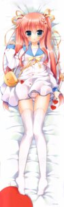 Rating: Questionable Score: 88 Tags: dakimakura ichiri loli pantsu seifuku shimapan thighhighs User: DDD