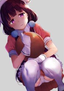 Rating: Safe Score: 80 Tags: blend_s maid pantsu rouka sakuranomiya_maika thighhighs waitress User: nphuongsun93