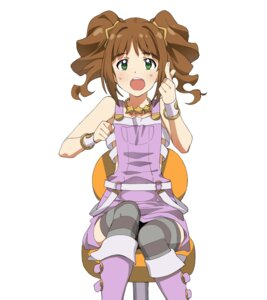 Rating: Safe Score: 12 Tags: a1 initial-g takatsuki_yayoi the_idolm@ster thighhighs User: Radioactive