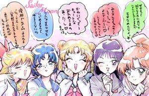 Rating: Safe Score: 7 Tags: aino_minako hino_rei kino_makoto megane mizuno_ami murimarimuri sailor_moon seifuku tsukino_usagi User: saemonnokami