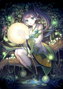 Rating: Safe Score: 32 Tags: kimono maccha_(mochancc) onmyouji thighhighs wet ying_grass User: Mr_GT