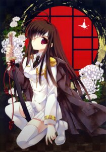 Rating: Safe Score: 24 Tags: ariko_yohichi bandages sword thighhighs uniform User: WtfCakes