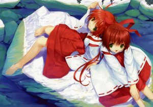 Rating: Safe Score: 20 Tags: etude miko mikomai ueda_ryou User: petopeto