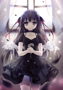 Rating: Safe Score: 55 Tags: cleavage dress rubi-sama tagme wings User: Twinsenzw