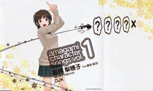 Rating: Safe Score: 25 Tags: amagami crease disc_cover sakurai_rihoko screening seifuku takayama_kisai User: Prishe