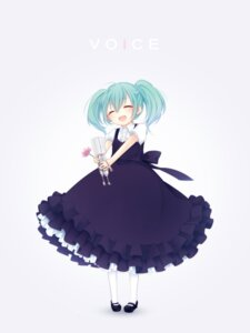 Rating: Safe Score: 20 Tags: hatsune_miku shiromayu vocaloid voice_(vocaloid) User: fairyren