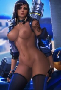 Rating: Explicit Score: 112 Tags: naked nipples overwatch pharah pussy sakimichan thighhighs uncensored User: Yuu-chan