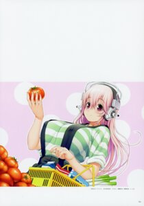 Rating: Questionable Score: 9 Tags: erect_nipples headphones nitroplus overalls sonico super_sonico tsuji_santa User: Radioactive