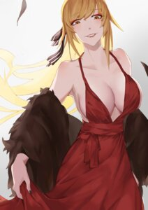 Rating: Safe Score: 34 Tags: bakemonogatari cleavage dress kissshot_acerolaorion_heartunderblade no_bra oshin0_(zheng) User: Mr_GT