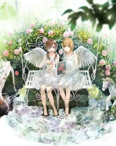 Rating: Safe Score: 19 Tags: dress kirinosuke wings User: blooregardo