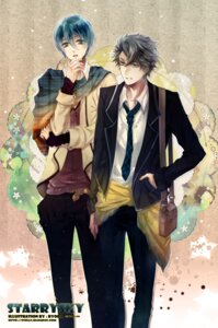 Rating: Safe Score: 2 Tags: kanakubo_homare male seifuku shiranui_kazuki starry_sky stells User: Radioactive