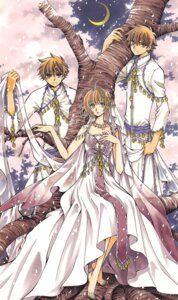 Rating: Safe Score: 6 Tags: clamp kinomoto_sakura li_syaoran tsubasa_reservoir_chronicle User: LulukoVladmont