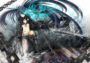Rating: Safe Score: 17 Tags: black_rock_shooter black_rock_shooter_(character) sword vocaloid yutaro5313 User: Sternind