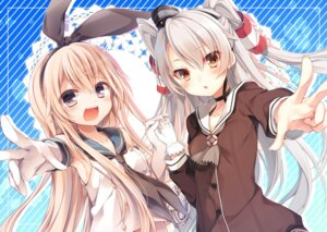 Rating: Safe Score: 84 Tags: amatsukaze_(kancolle) kantai_collection komeshiro_kasu shimakaze_(kancolle) toosaka_asagi User: 椎名深夏