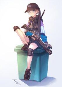 Rating: Safe Score: 18 Tags: gun koh_(minagi_kou) weapon User: Dreista