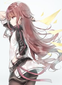 Rating: Questionable Score: 33 Tags: arknights ass exusiai_(arknights) pantyhose pointy_ears qigas User: Mr_GT