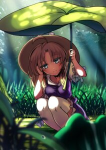 Rating: Safe Score: 31 Tags: koissa moriya_suwako thighhighs touhou User: Mr_GT