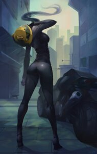 Rating: Safe Score: 103 Tags: ass bodysuit celty_sturluson crow_aberdeen durarara!! heels User: Mr_GT