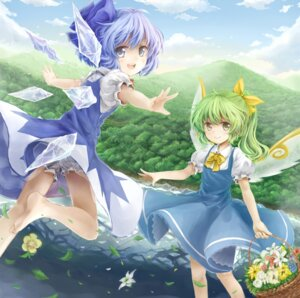Rating: Safe Score: 17 Tags: bloomers cirno daiyousei henrytz touhou wings User: Mr_GT