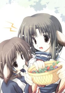 Rating: Safe Score: 2 Tags: aruruu eruruu nagomi tenmu_shinryuusai utawarerumono User: cheese