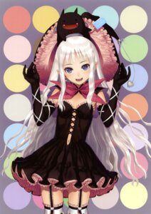 Rating: Safe Score: 138 Tags: devil dress gothic_lolita lolita_fashion melty_de_granite overfiltered sega shining_hearts shining_world sorbe stockings thighhighs tony_taka witch User: charunetra