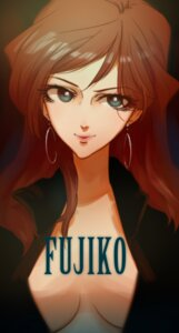 Rating: Safe Score: 13 Tags: lupin_iii mine_fujiko no_bra open_shirt User: Fanla