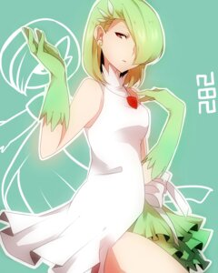 Rating: Safe Score: 25 Tags: anthropomorphization dress gardevoir pokemon takeshima_(nia) User: charunetra