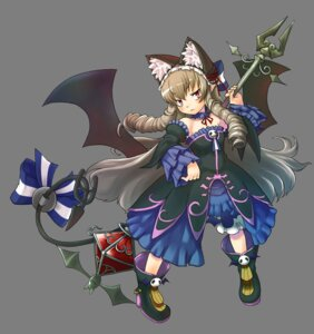 Rating: Safe Score: 14 Tags: animal_ears bloomers devil dress gothic_lolita kanatarou. lolita_fashion luca_yurievna_vinakol nekomimi snk tail transparent_png trouble_witches_neo! wings User: Radioactive