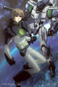 Rating: Safe Score: 3 Tags: bodysuit gun heroic_age hirai_hisashi iolaous_oz_mehelim male mecha ootsuka_ken User: Radioactive