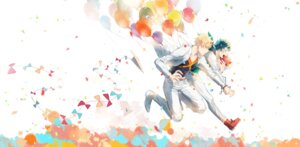 Rating: Safe Score: 7 Tags: az_(artist) bakugou_katsuki boku_no_hero_academia business_suit male midoriya_izuku User: charunetra