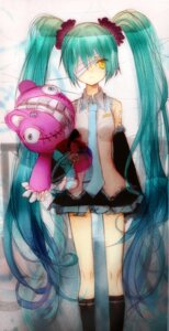 Rating: Safe Score: 16 Tags: eyepatch hatsune_miku mita vocaloid User: charunetra