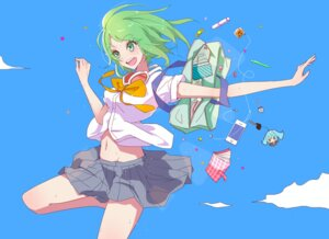 Rating: Safe Score: 24 Tags: gumi kuromon_kyouyuu megane seifuku vocaloid User: KazukiNanako