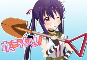 Rating: Safe Score: 10 Tags: ebisuzawa_kurumi gakkou_gurashi! seifuku tagme User: saemonnokami