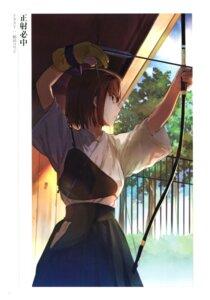 Rating: Questionable Score: 10 Tags: fate/grand_order japanese_clothes kinuta_kouji mitsuzuri_ayako weapon User: Radioactive