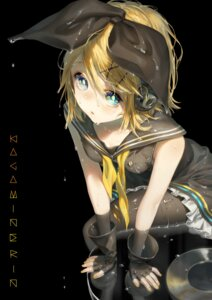 Rating: Questionable Score: 17 Tags: cleavage dress headphones kagamine_rin oohhya pantyhose seifuku skirt_lift vocaloid wet wet_clothes User: yanis