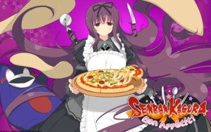 Rating: Questionable Score: 24 Tags: dress marvelous_entertainment murasaki_(senran_kagura) senran_kagura:_bon_appetit wallpaper weapon yaegashi_nan User: fly24