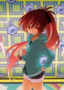 Rating: Safe Score: 13 Tags: kuroda_bb puella_magi_madoka_magica sakura_kyouko User: Hatsukoi