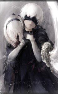 Rating: Safe Score: 20 Tags: marumoru nier_automata yorha_no.2_type_b yorha_no._9_type_s User: charunetra