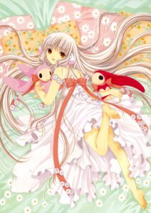 Rating: Safe Score: 16 Tags: chii chobits clamp dress feet User: Share