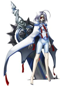 Rating: Safe Score: 13 Tags: arc_system_works blazblue blazblue:_calamity_trigger eyepatch feet leotard mori_toshimichi sword v-13 User: Radioactive