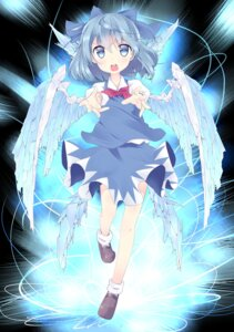 Rating: Safe Score: 20 Tags: cirno touhou tunamayochan wings User: Mr_GT
