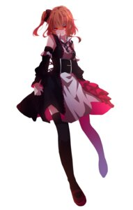 Rating: Safe Score: 42 Tags: dress kagerou_project kisaragi_momo mekakucity_actors mikanururu thighhighs User: zero|fade